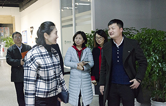福州市委宣傳部副部長、市委網信辦主任杜微等領導走訪開心情色站!