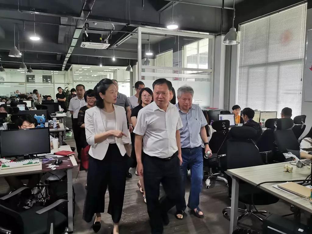 福建省委网信办领导莅临游龙网络走访调研