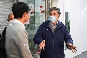 福州市政协副主席林治良一行莅临我司督导疫情防控和复工工作