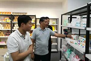 福建省海峡文旅创意产业协会会长石伟莅临游龙网络走访调研
